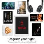 Netflix Downloads: Your Travel Solution #StreamTeam