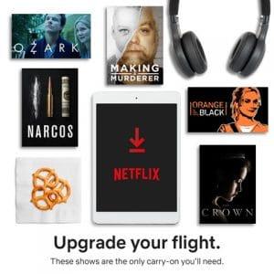 Netflix Downloads: Your Travel Solution #StreamTeam
