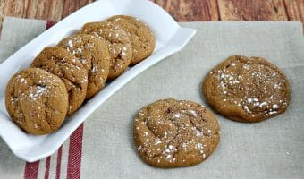 Chewy Ginger Molasses Cookies