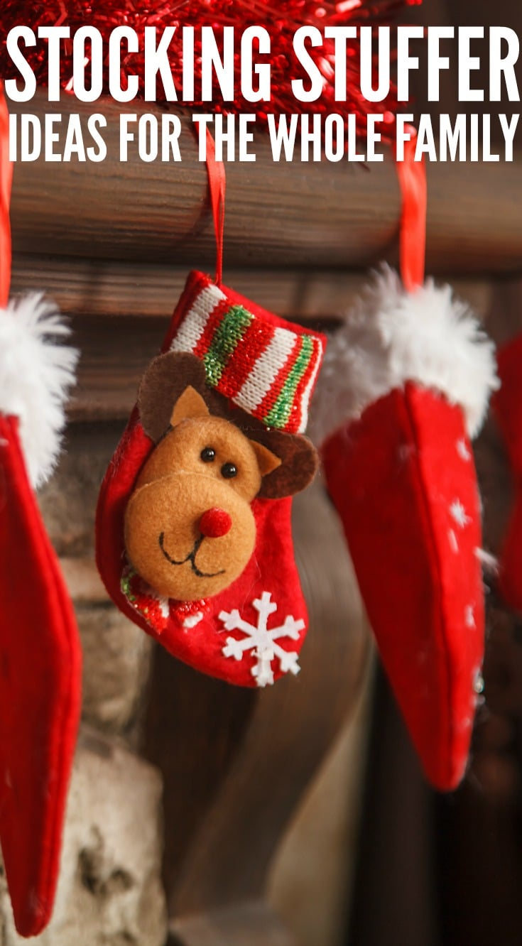 Holiday Stocking Stuffer Ideas For The Whole Family