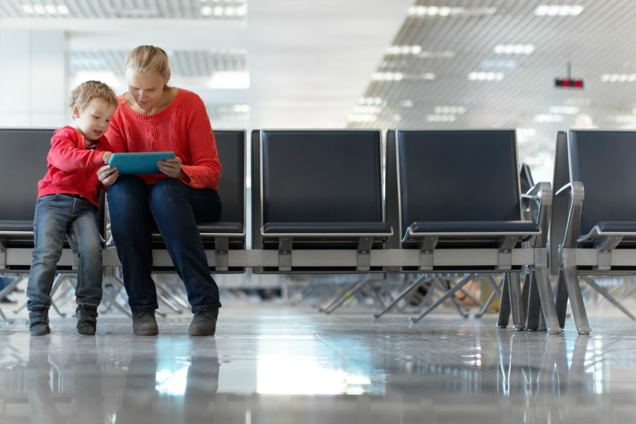 Activities for Kids in Airports