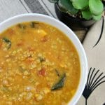 Slow Cooker Coconut Red Lentil and Carrot Soup