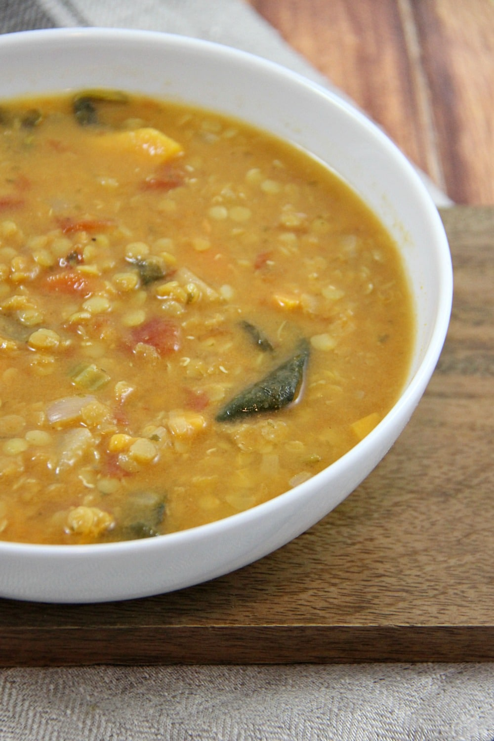 Slow Cooker Coconut Red Lentil and Carrot Soup Recipe (Vegan)