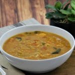 Vegan Slow Cooker Coconut Red Lentil and Carrot Soup