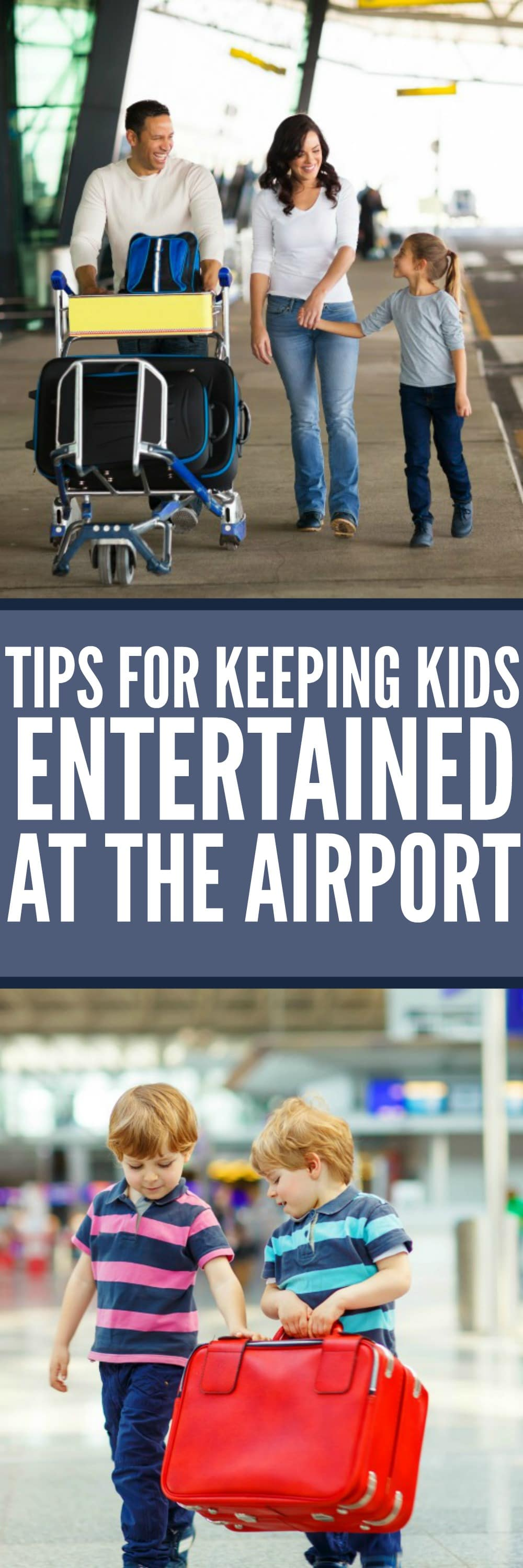 Tips for Keeping Kids Entertained at the Airport