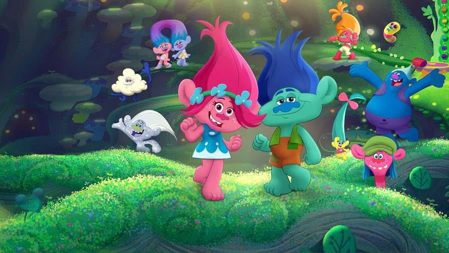 Trolls on Netflix - beating the winter blues with Netflix