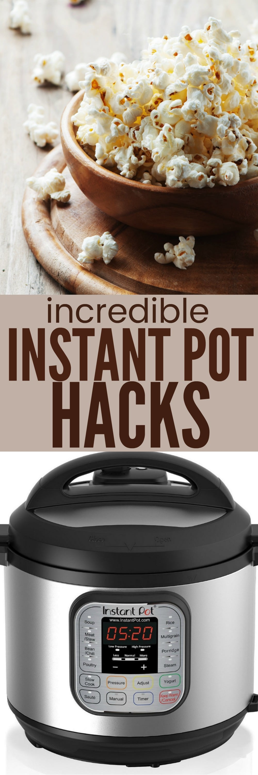 Incredible Instant Pot Hacks