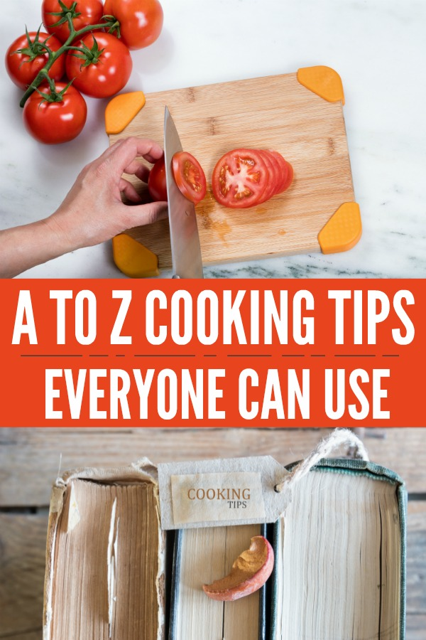Cooking Tips Everyone Can Use