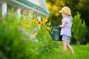The Best Outdoor Chores for Kids