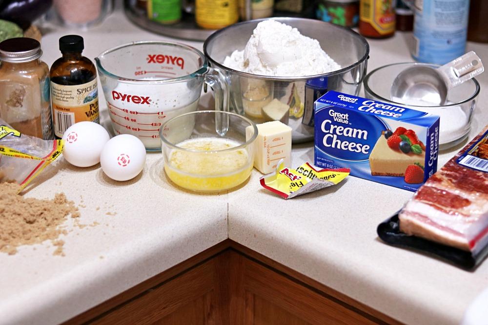 Skillet Cinnamon Rolls Ingredients