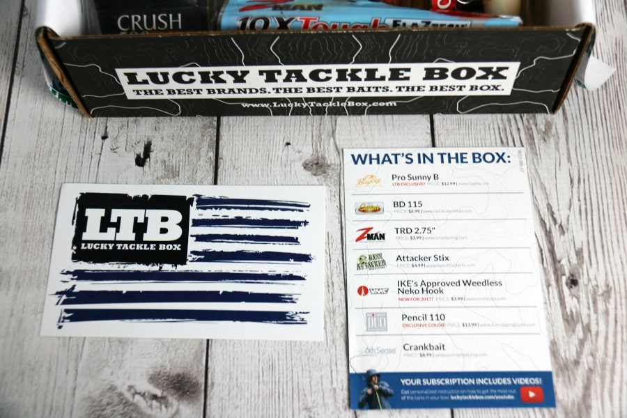 Lucky Tackle Box subscription box Canada