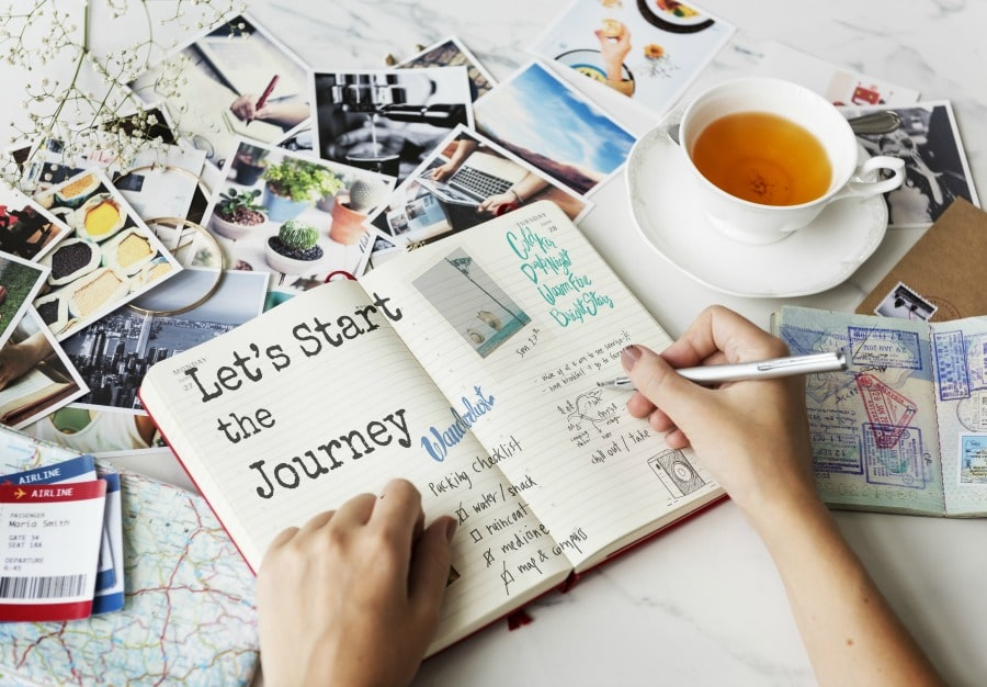 Travel Journal Travel Scrapbook