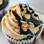Peanut Butter Cupcakes with Reeses