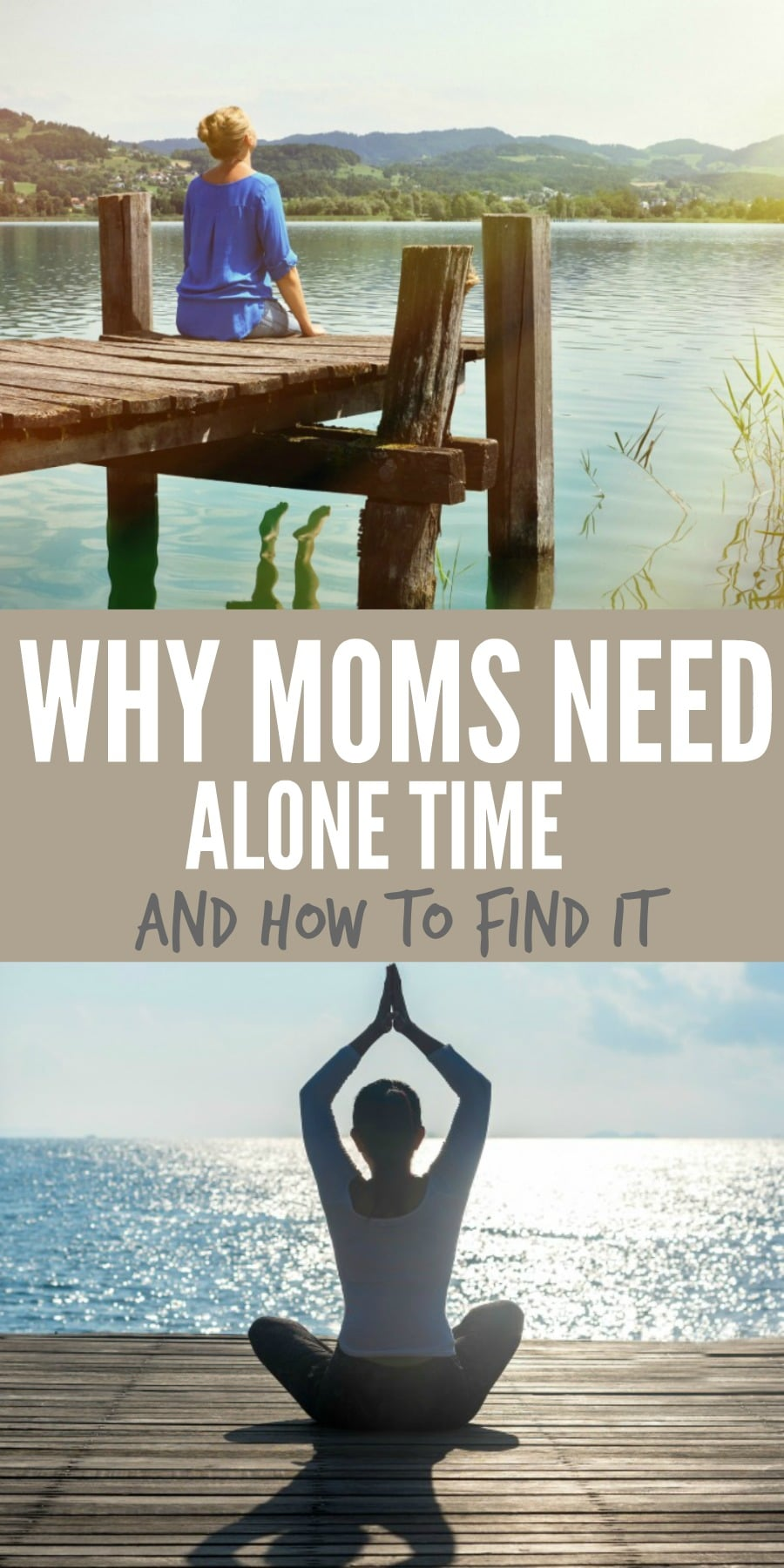 moms need alone time