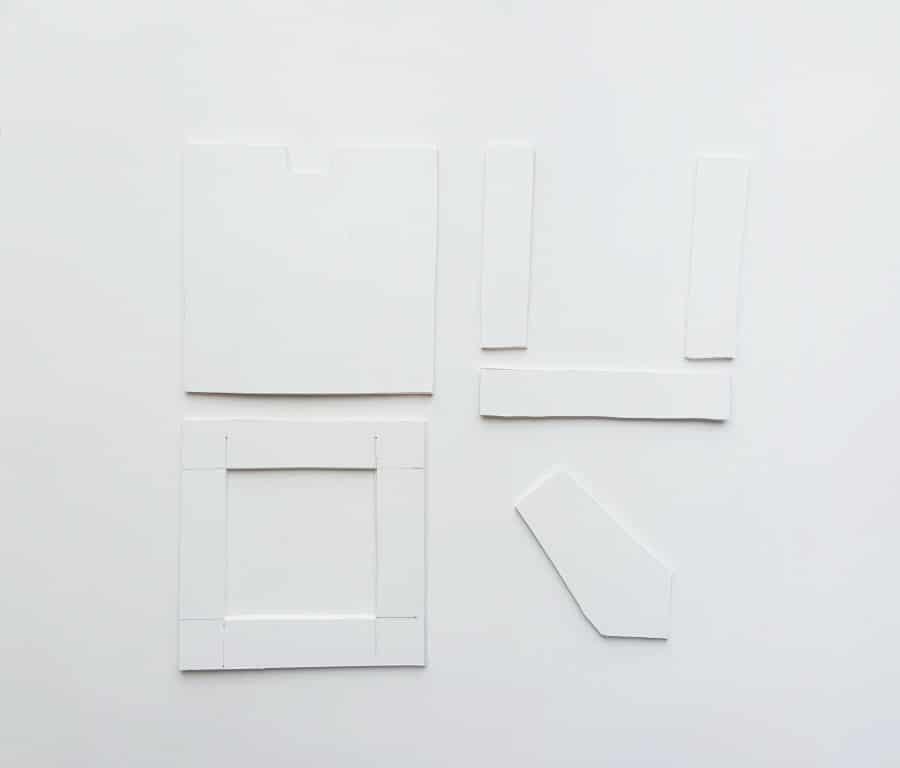 Paper Quilling Floral Frame - Step 1