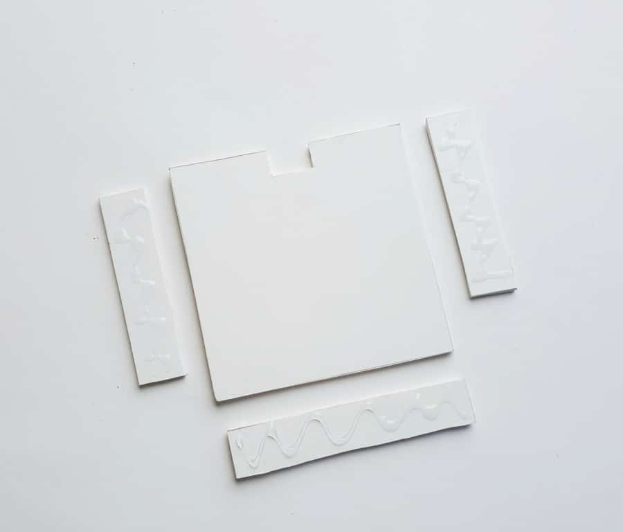 Paper Quilling Floral Frame - Step 2