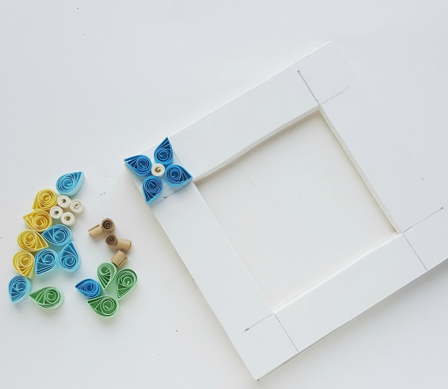 Paper Quilling Step 9