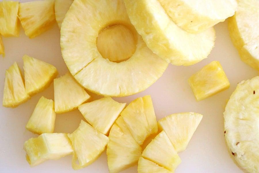 Pineapple Lemonade Ingredients