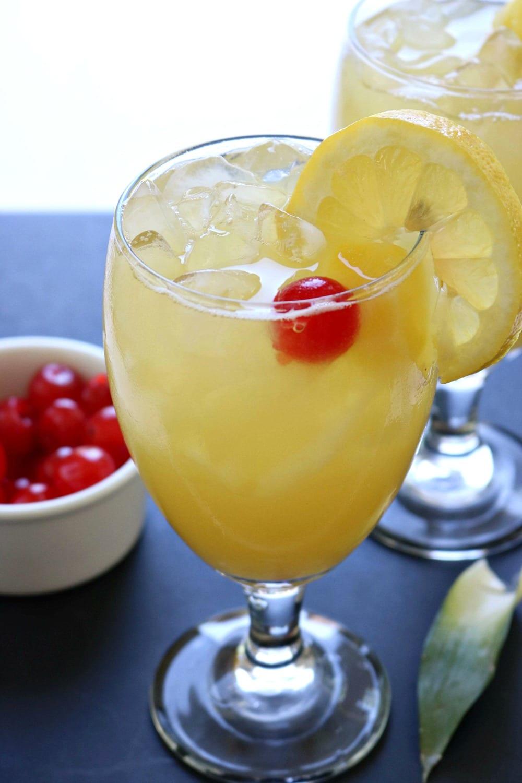 Pineapple Lemonade and Pineapple Lemonade Punch