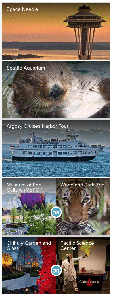 Seattle CityPASS Attractions