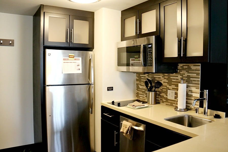 Staybridge Suites Seattle Kitchen