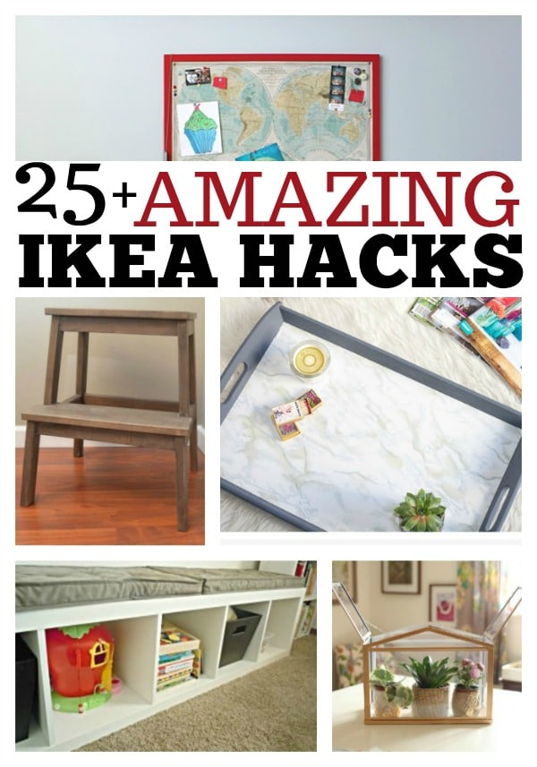 25 AMAZING IKEA HACKS