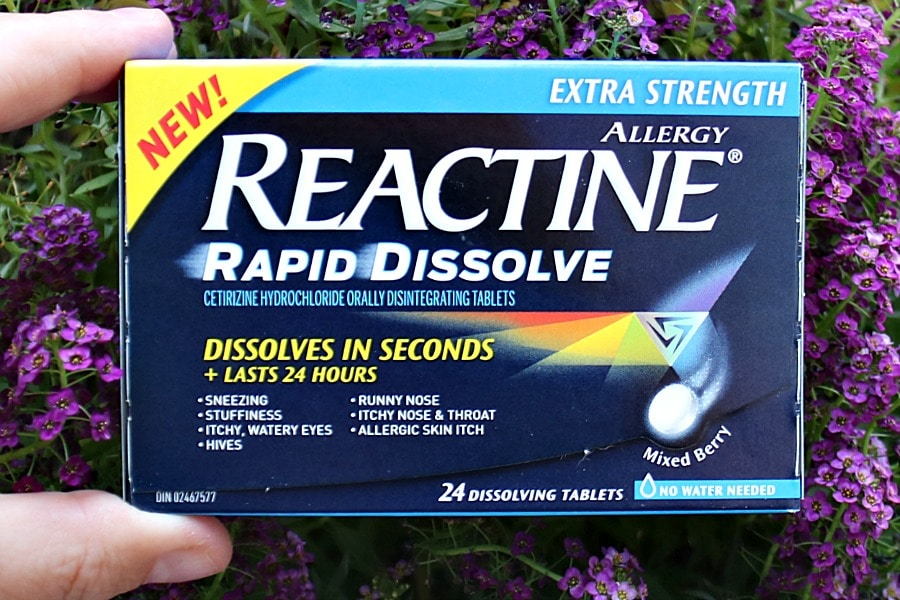 Fall Allergies with Reactive Rapid Dissolve