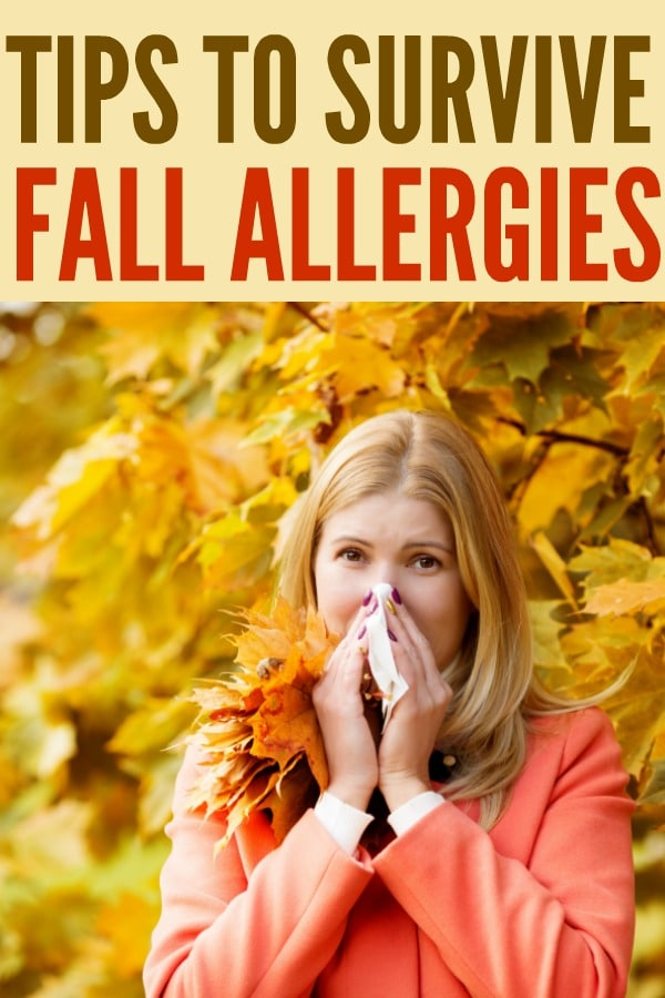 Tips to Survive Fall Allergies