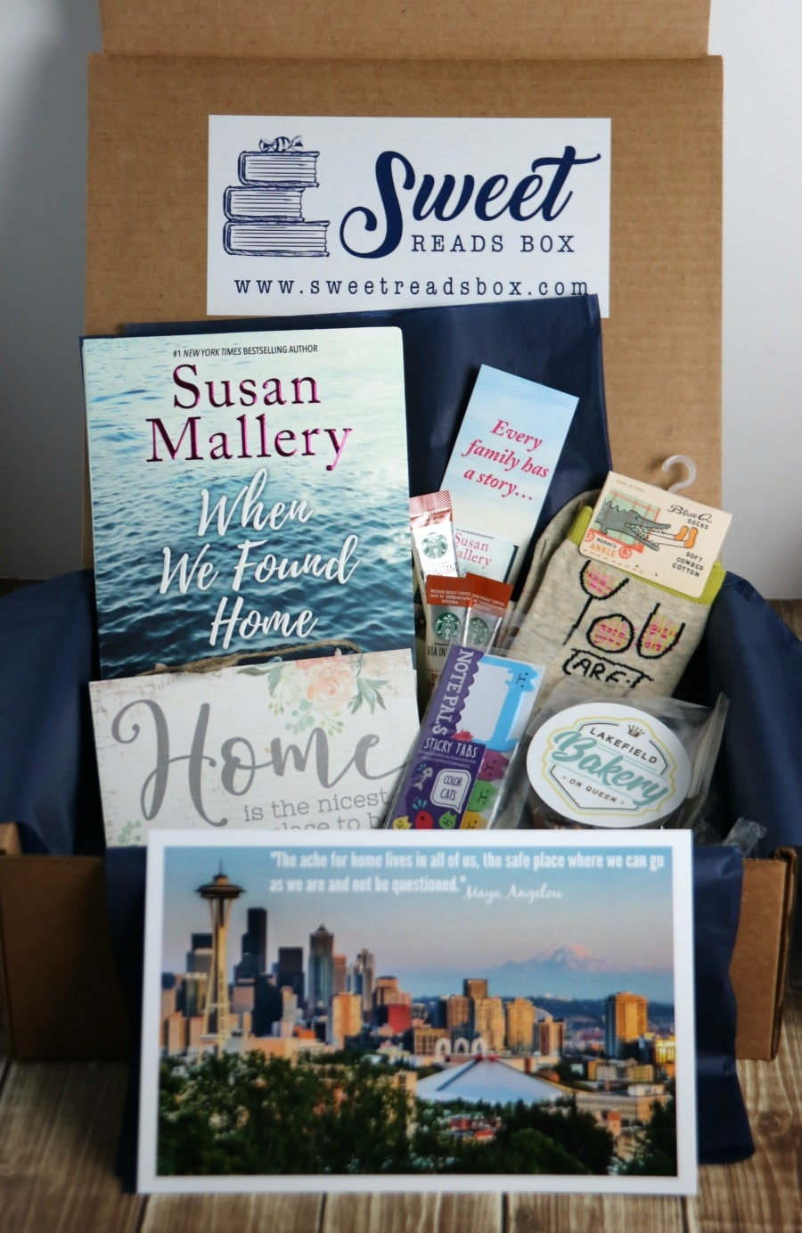 September 2018 Sweet Reads Box