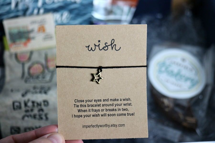 Wish Bracelet Imperfectly Worthy