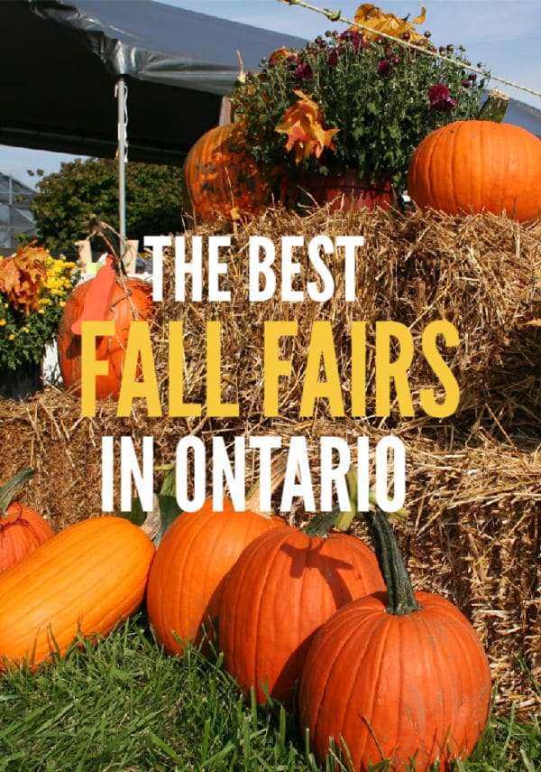 Best Fall Fairs in Ontario