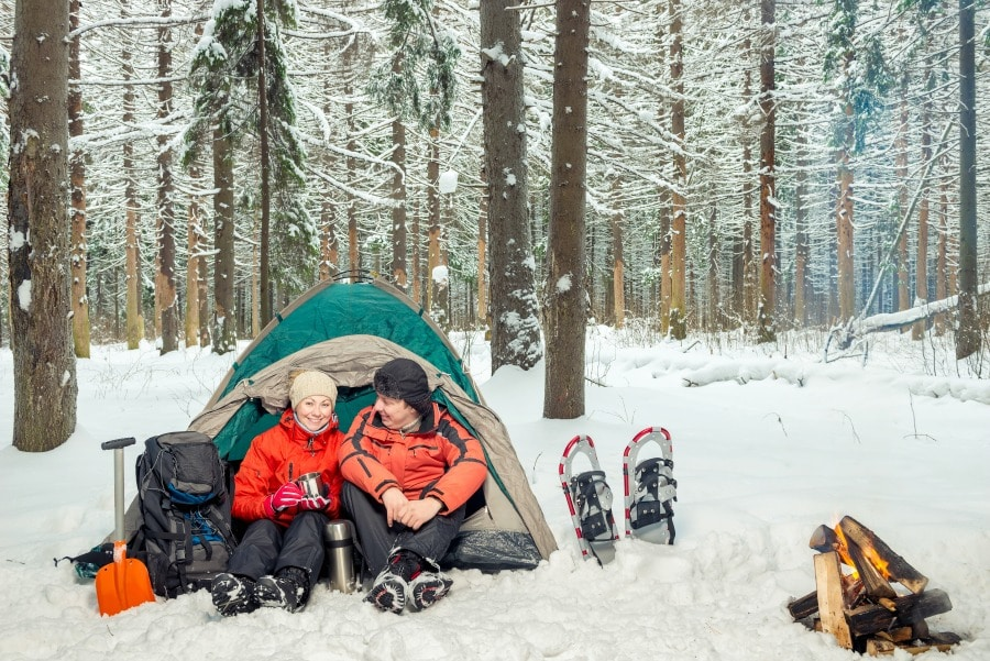 Best Winter Camping Locations in the US