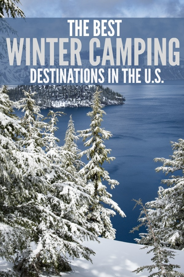 Winter Camping Destinations