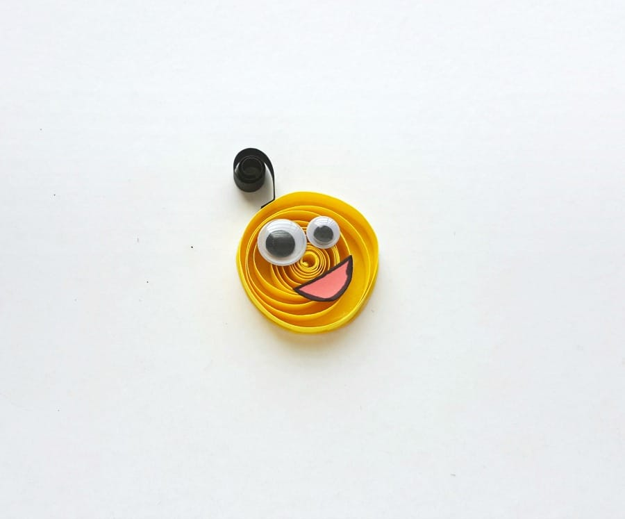 paper quilling monster craft step (7)