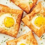 Air Fryer Puffed Egg Tarts