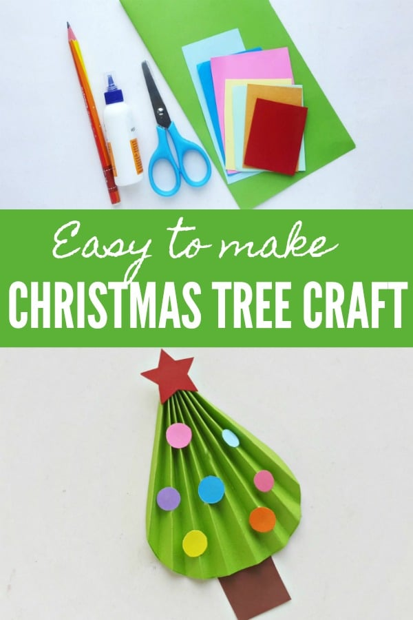 Easy to Make Christmas Tree Craft
