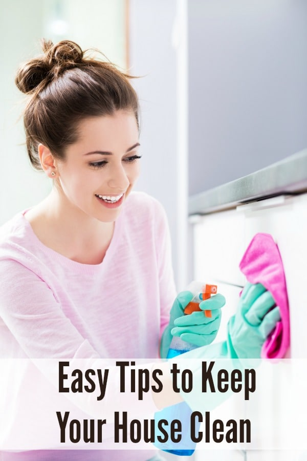 Easy Tips to Keep Your House Clean