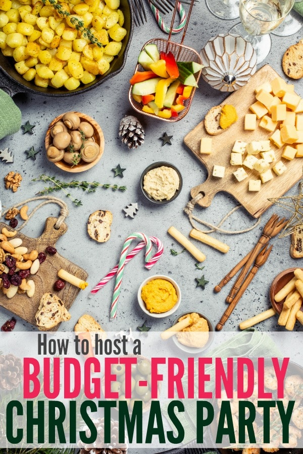 How to host a budget friendly Christmas party