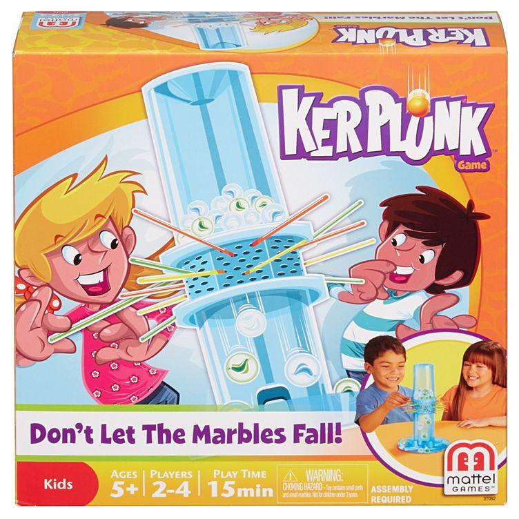 Kerplunk Family Game