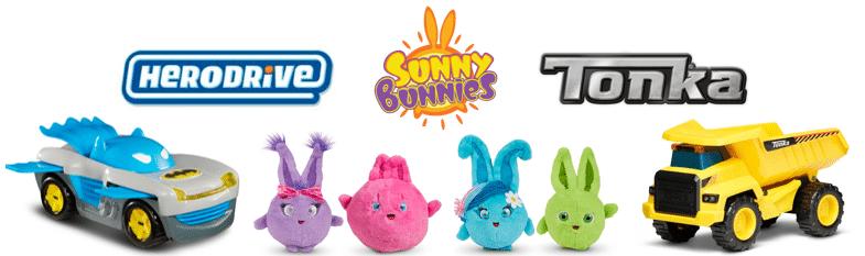 Tonka Sunny Bunnies Herodrive Toys