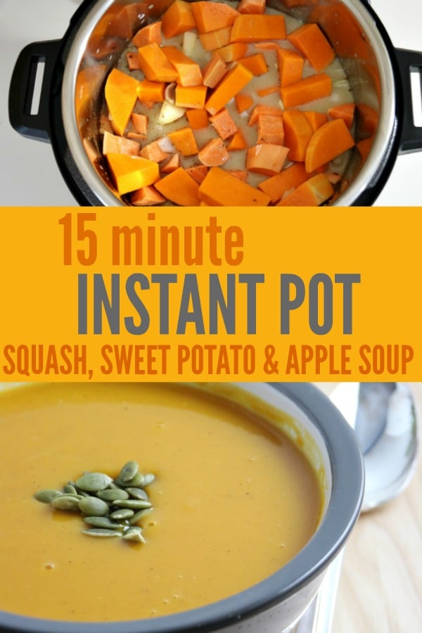 15 minute Instant Pot Squash Soup