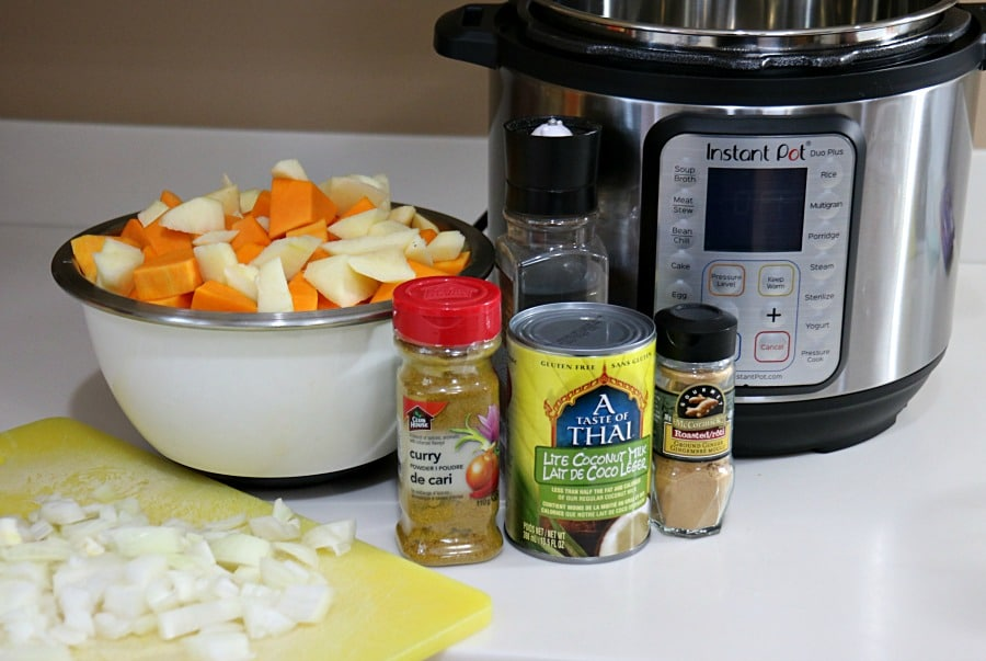 Instant Pot Soup Ingredients