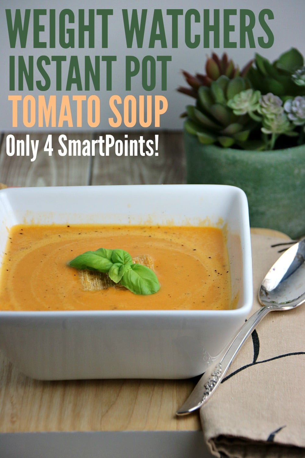 Instant Pot Tomato Soup Recipe