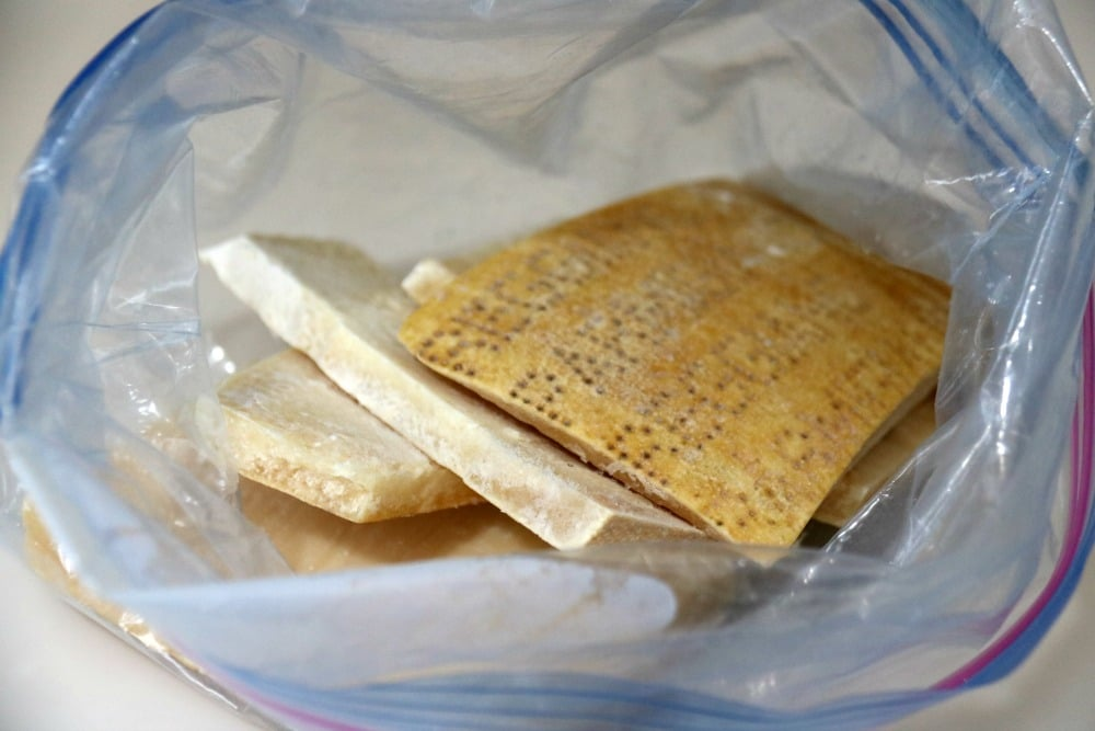 Freezer Parmesan Rinds