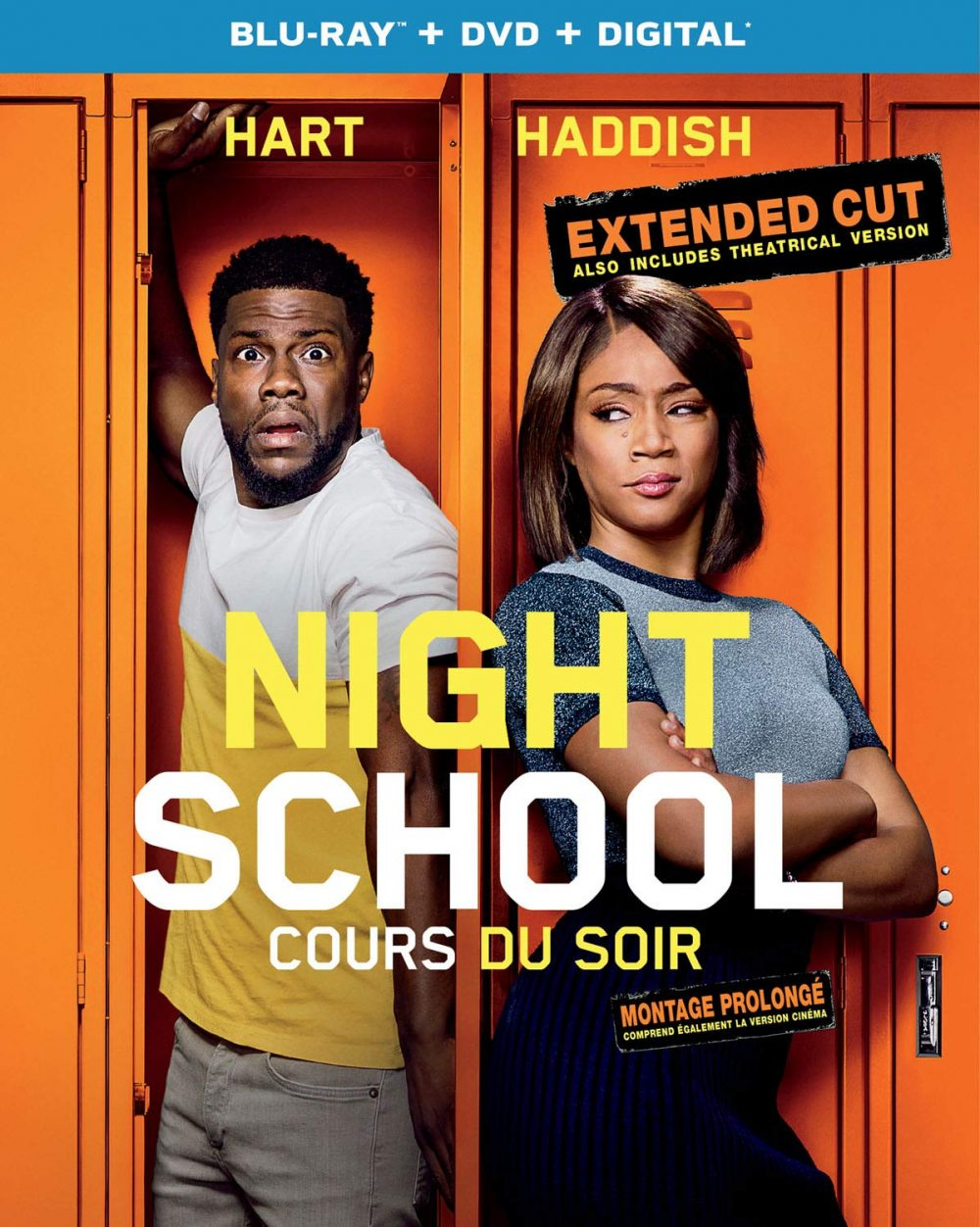 Night School DVD BluRay Cover