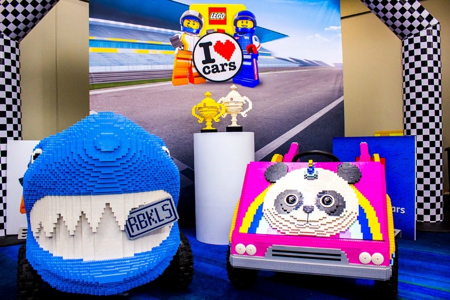 Get Your Photo Taken in a LEGO Racer Car CIAS 2019 Toronto