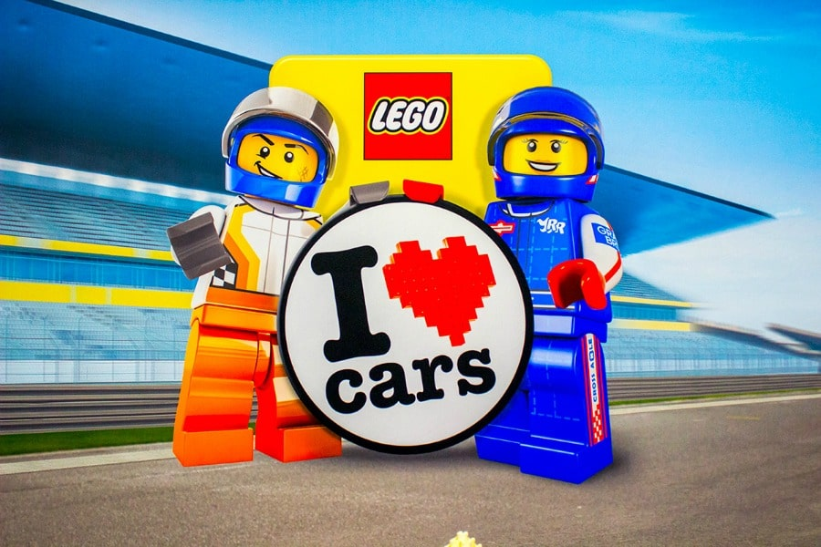 I Heart Lego Cars CIAS 2019