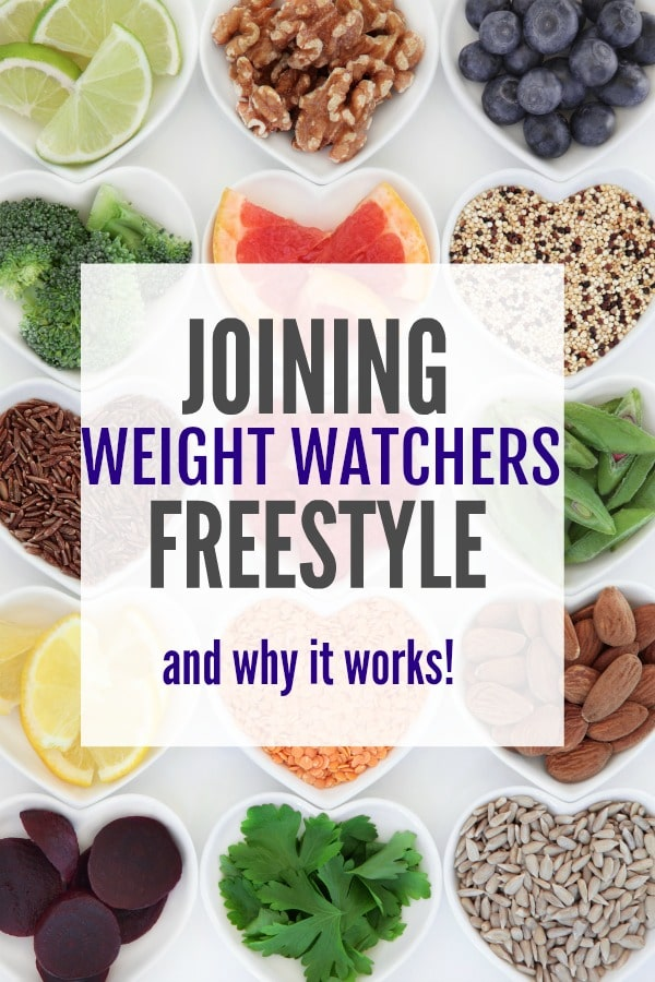 Joining Weight Watchers Freestyle