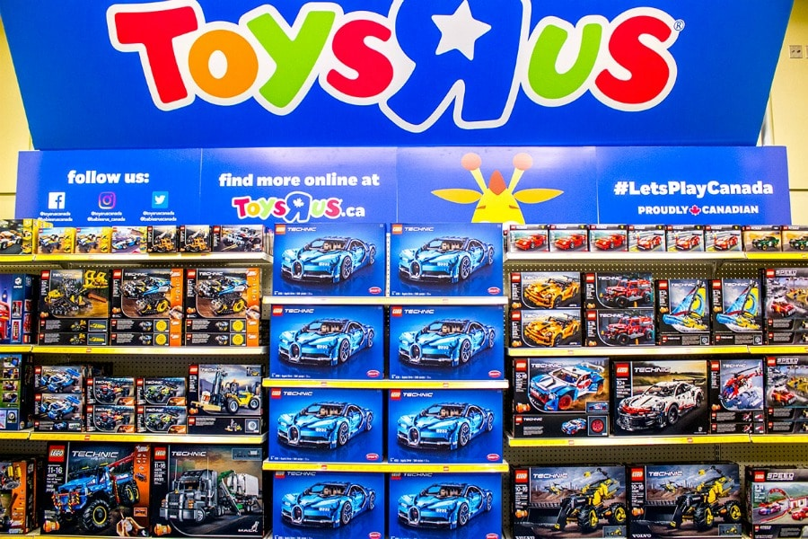 Toys R Us at CIAS 2019 LEGO Store