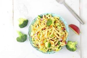 Honey Crisp Apple Broccoli Salad